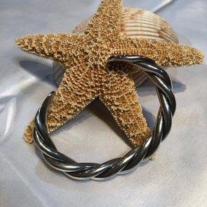 SILPADA .925 Silver Twisted Cuff Bracelet B0014